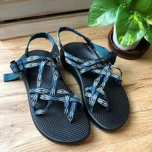 NEW Chaco ZX2 CLASSIC: ANGULAR TEAL